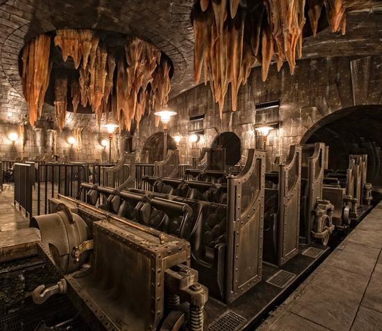 Harry Potter and the Escape from Gringotts photo, from ThemeParkInsider.com