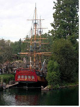 Sailing Ship Columbia photo, from ThemeParkInsider.com
