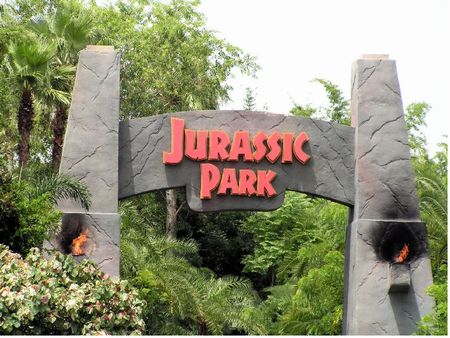 Camp Jurassic photo, from ThemeParkInsider.com