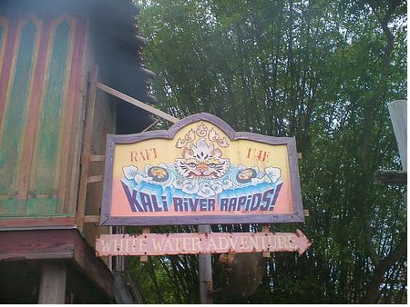 Kali River Rapids photo, from ThemeParkInsider.com
