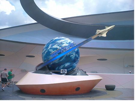 Mission: Space photo, from ThemeParkInsider.com