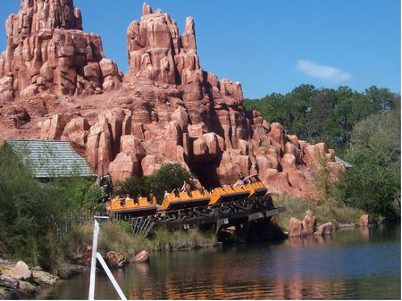 Thunder Mountain at Walt Disney World