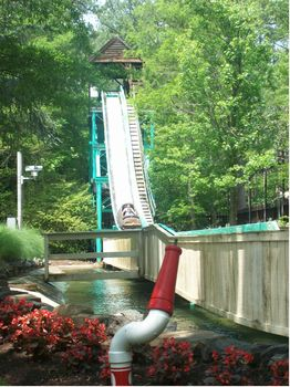 Photo of Shenandoah Log Flume