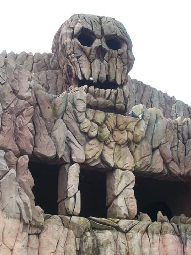Skull Mountain photo, from ThemeParkInsider.com