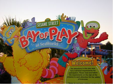 Sesame Street Bay of Play photo, from ThemeParkInsider.com