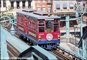 DisneySea Electric Railway photo, from ThemeParkInsider.com
