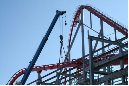 Intimidator photo, from ThemeParkInsider.com