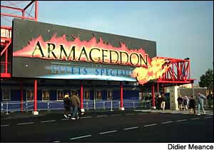 Armageddon Special Effects photo, from ThemeParkInsider.com