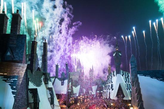 The opening ceremony for Osaka's Wizarding World