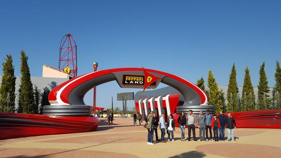 Ferrari Land photo, from ThemeParkInsider.com