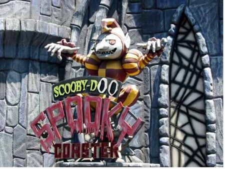 Scooby Doo Spooky Coaster photo, from ThemeParkInsider.com
