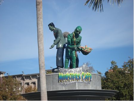 Monsters Cafe photo, from ThemeParkInsider.com