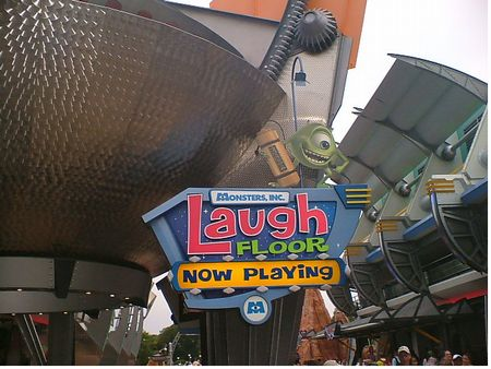 Monsters Inc. Laugh Floor