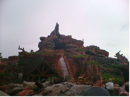 Splash Mountain photo, from ThemeParkInsider.com