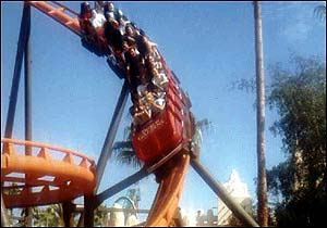 Scorpion photo, from ThemeParkInsider.com