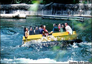 Congo River Rapids photo, from ThemeParkInsider.com