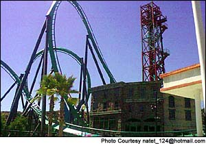 The Riddler's Revenge photo, from ThemeParkInsider.com