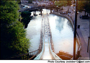 Photo of Saw Mill Log Flume