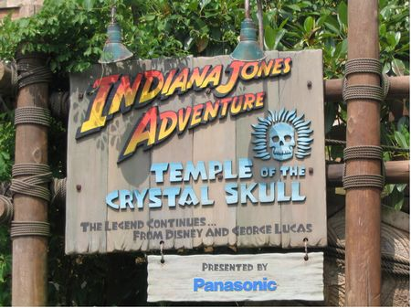Indiana Jones - Temple of the Crystal Skull photo, from ThemeParkInsider.com