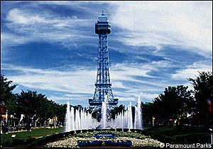 Eiffel Tower photo, from ThemeParkInsider.com