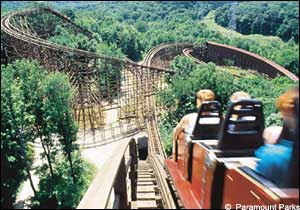 The Beast photo, from ThemeParkInsider.com