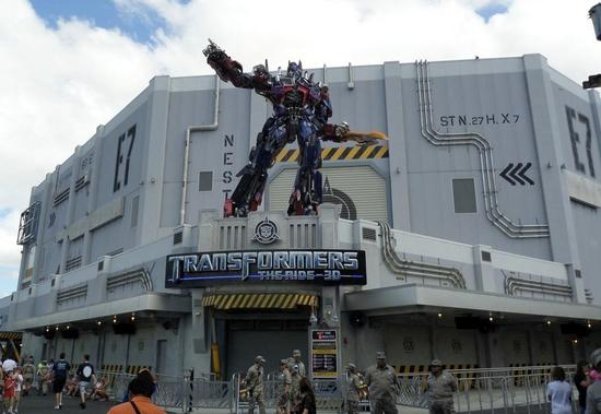Transformers The Ride 3D photo, from ThemeParkInsider.com