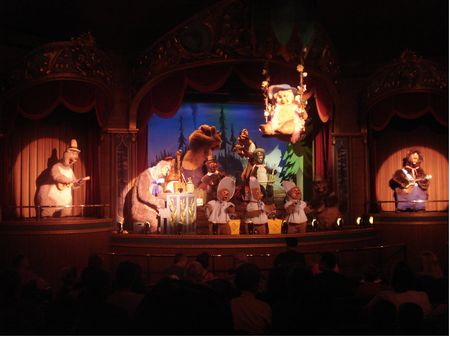 Country Bear Jamboree photo, from ThemeParkInsider.com