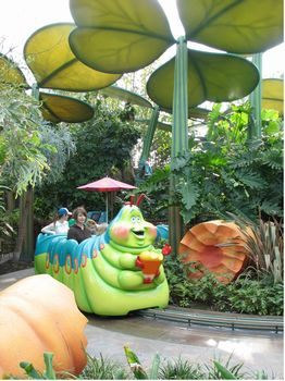 Heimlich's Chew Chew Train photo, from ThemeParkInsider.com