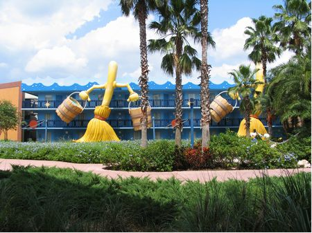 Disney's All-Star Movies Resort photo, from ThemeParkInsider.com