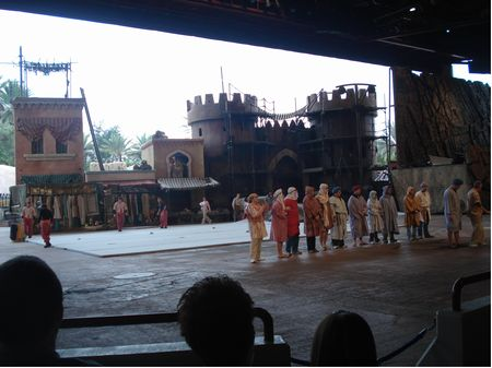 Indiana Jones Epic Stunt Spectacular photo, from ThemeParkInsider.com