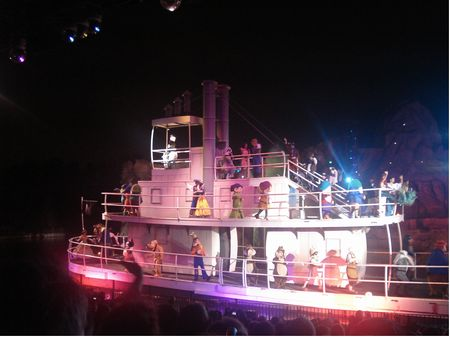 Walt Disney World Disney's Hollywood Studio's Fantasmic!
