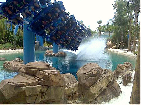 Manta as SeaWorld Orlando