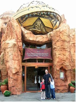 Mythos Restaurant photo, from ThemeParkInsider.com