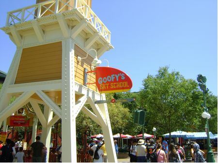 Goofy S Sky School At Disney S California Adventure
