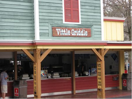 Vittle Griddle photo, from ThemeParkInsider.com