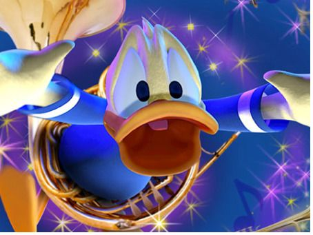 Donald Duck in Mickey's PhilharMagic