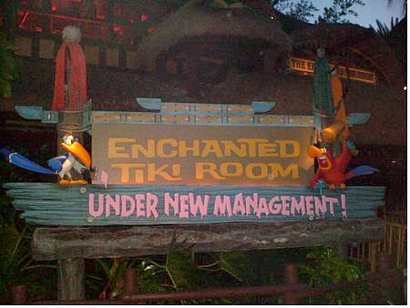 The Enchanted Tiki Room: Under New Management