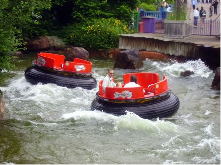 Ribena Rumba Rapids photo, from ThemeParkInsider.com
