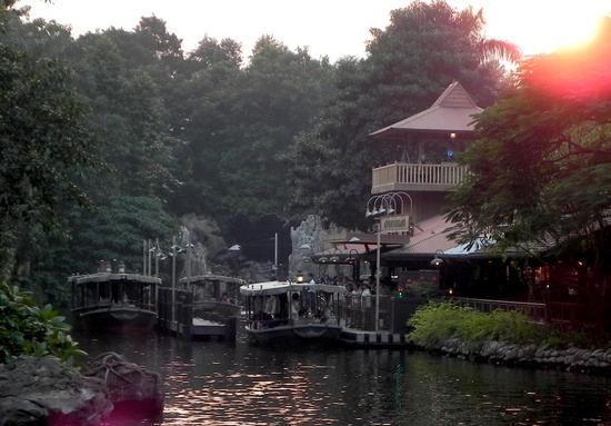 Jungle Cruise dock