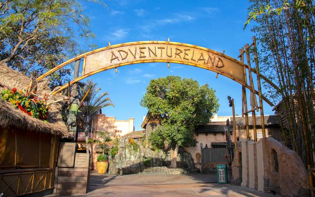New Adventureland sign