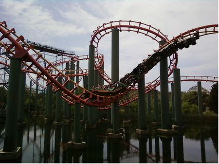 Anaconda photo, from ThemeParkInsider.com
