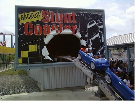 Photo of Backlot Stunt Coaster