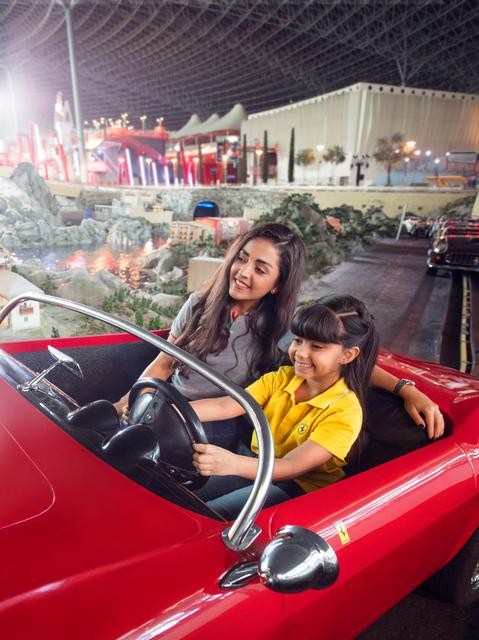 Ferrari World Abu Dhabi photo, from ThemeParkInsider.com