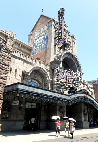 Big Band Beat at the Broadway Musical Theater in DisneySea