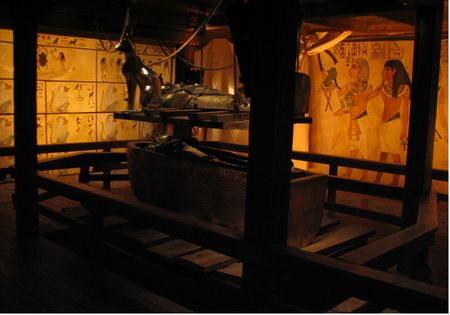 Photo of King Tut's Tomb