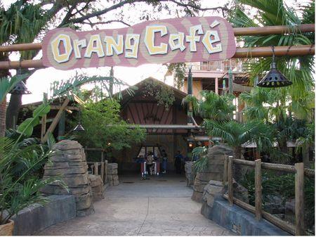 Orang Cafe At Busch Gardens Tampa
