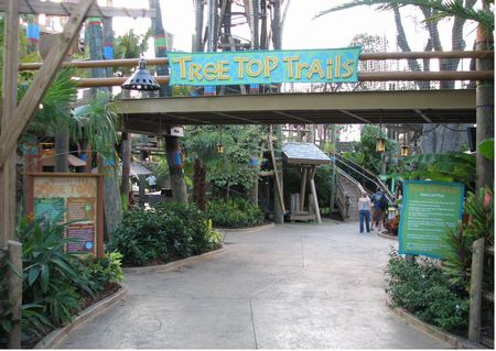 Tree Top Trails photo, from ThemeParkInsider.com