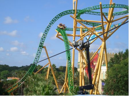 Cheetah Hunt photo, from ThemeParkInsider.com