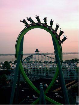 Cedar Point's Raptor