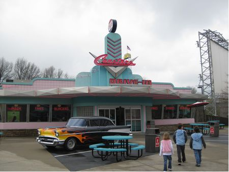 Coasters Drive-In photo, from ThemeParkInsider.com